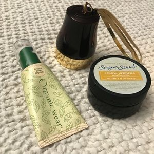 Other - Organic makeup, Shimmer & Scrub
